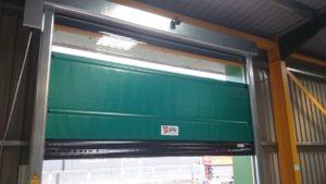 high speed door installation