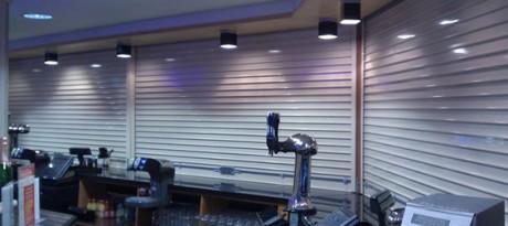 easy to operate bar roller shutter