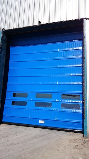 quiet and stable high speed doors